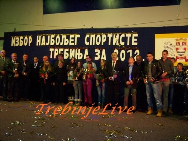 izbor za najboljeg sportistu grada Trebinja 2012