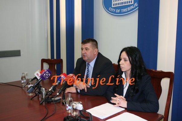 Gradonačelnik Slavko Vučurević i Mirna Kapor