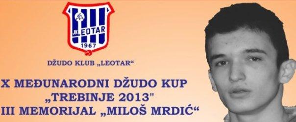 memorijalni turnir milos mrdic trebinje 2013