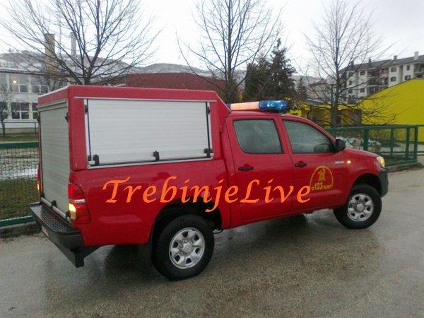 novo vozilo za vatrogasce u gacku